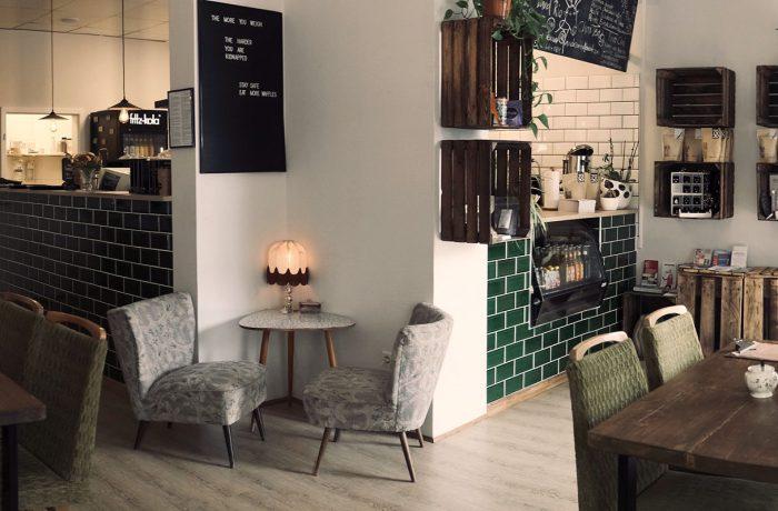 Unser gemütliches Café